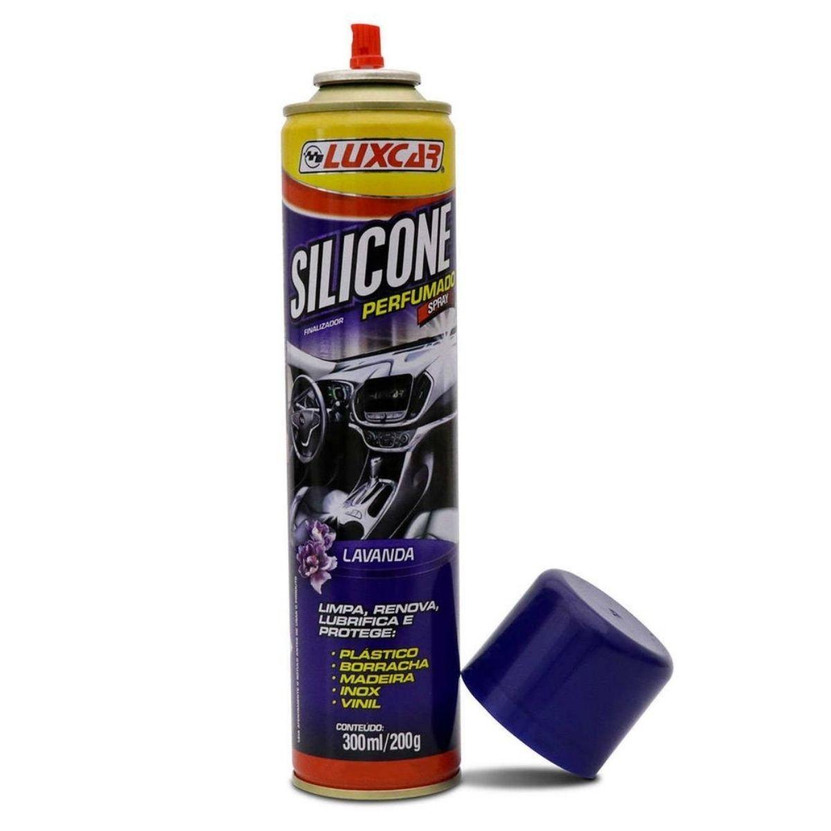 Silicone Perfumado Spray Lavanda 300ml