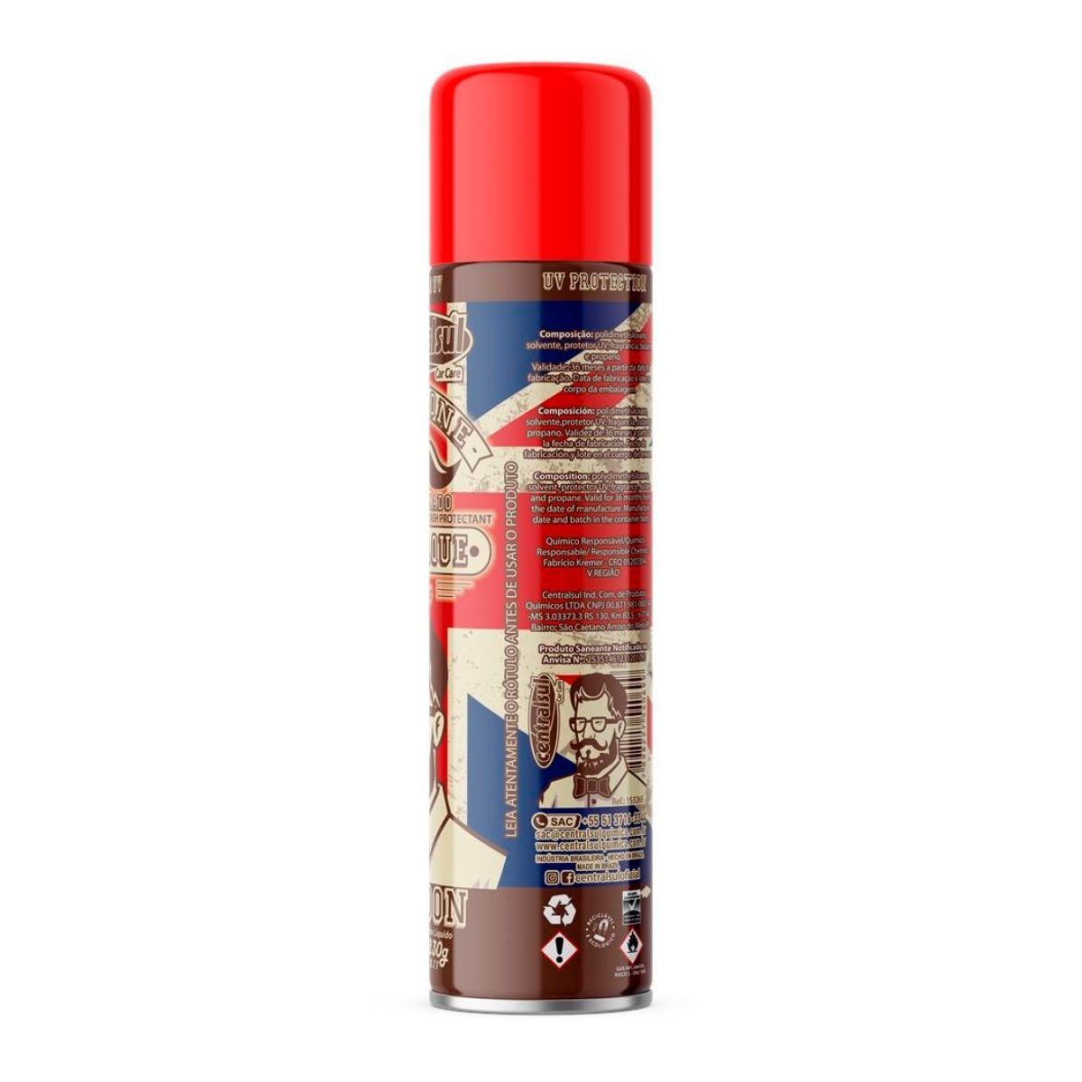 Silicone Spray Perfumado 400ml Men London