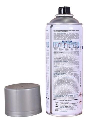 Tinta Spray Alumínio Super Color Uso Geral 350ml