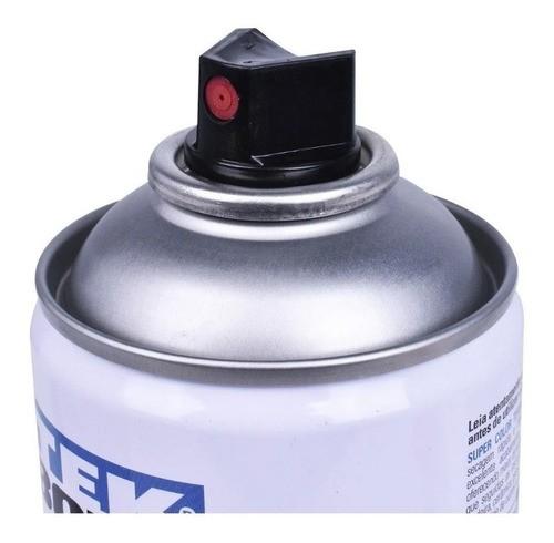 Tinta Spray Branco Fosco Super Color Uso Geral 350ml