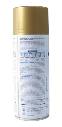 Tinta Spray Dourado Metálico Super Color 350ml