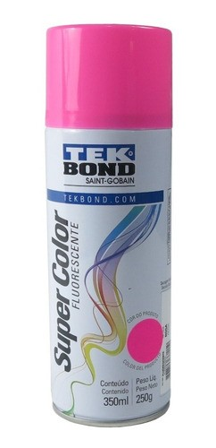 Tinta Spray Rosa Fluorescente Uso Geral 350ml
