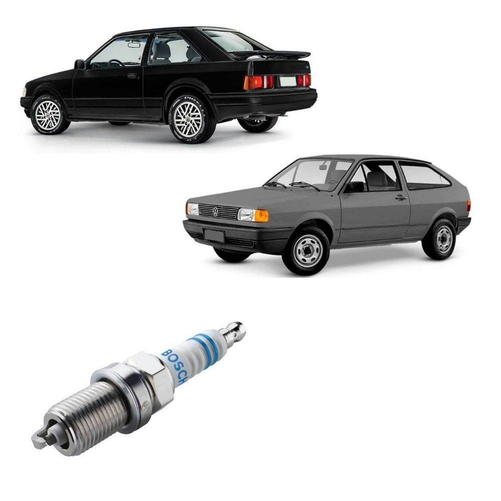 Vela Ignição Ford Escort Volkswagen Gol