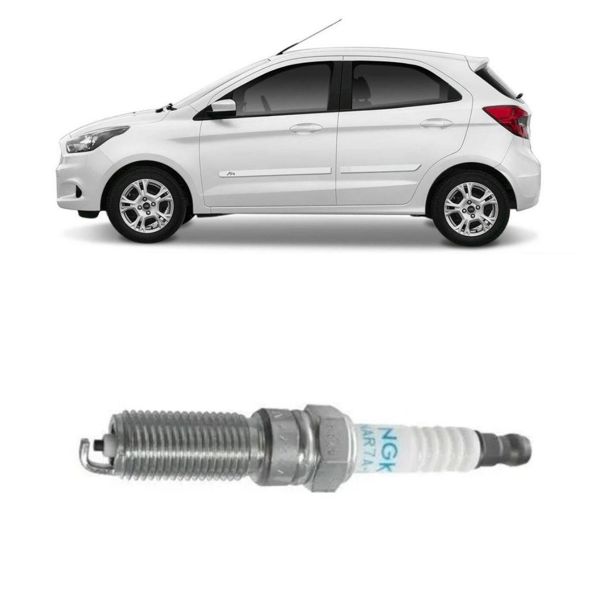Vela Ignição Ford Ka 1.0 12v Flex 2015/