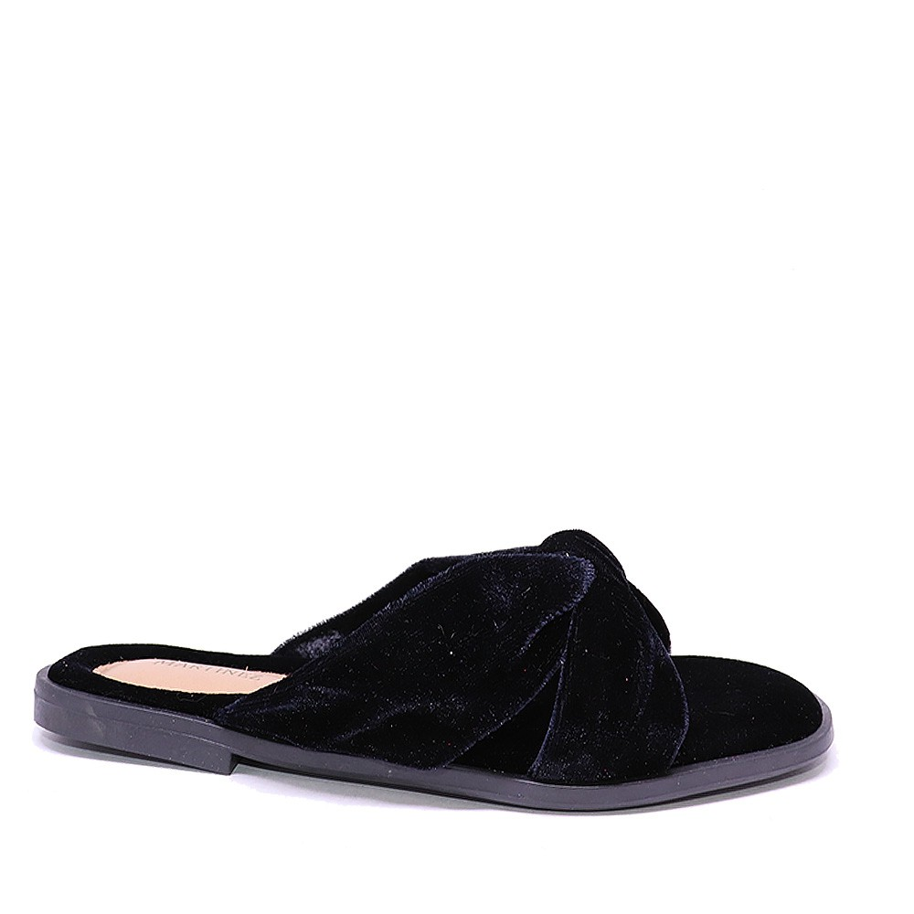 Chinelo Martinez Home Wear veludo preto
