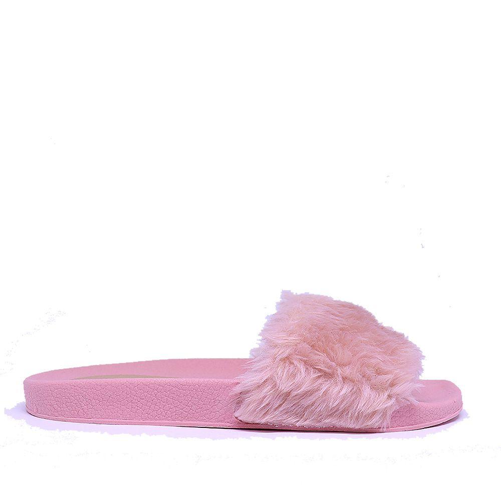 Chinelo Martinez slide rose Fluffy