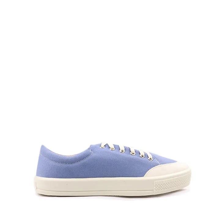 Tênis amarração lona Azul