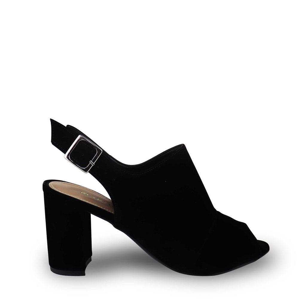Sandália Ankle Boot Nobucado Preta