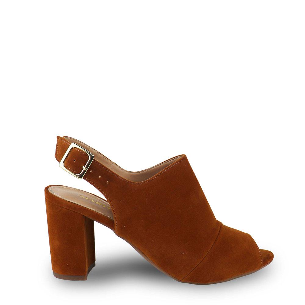 Sandália Ankle Boot Nobucado Whisky