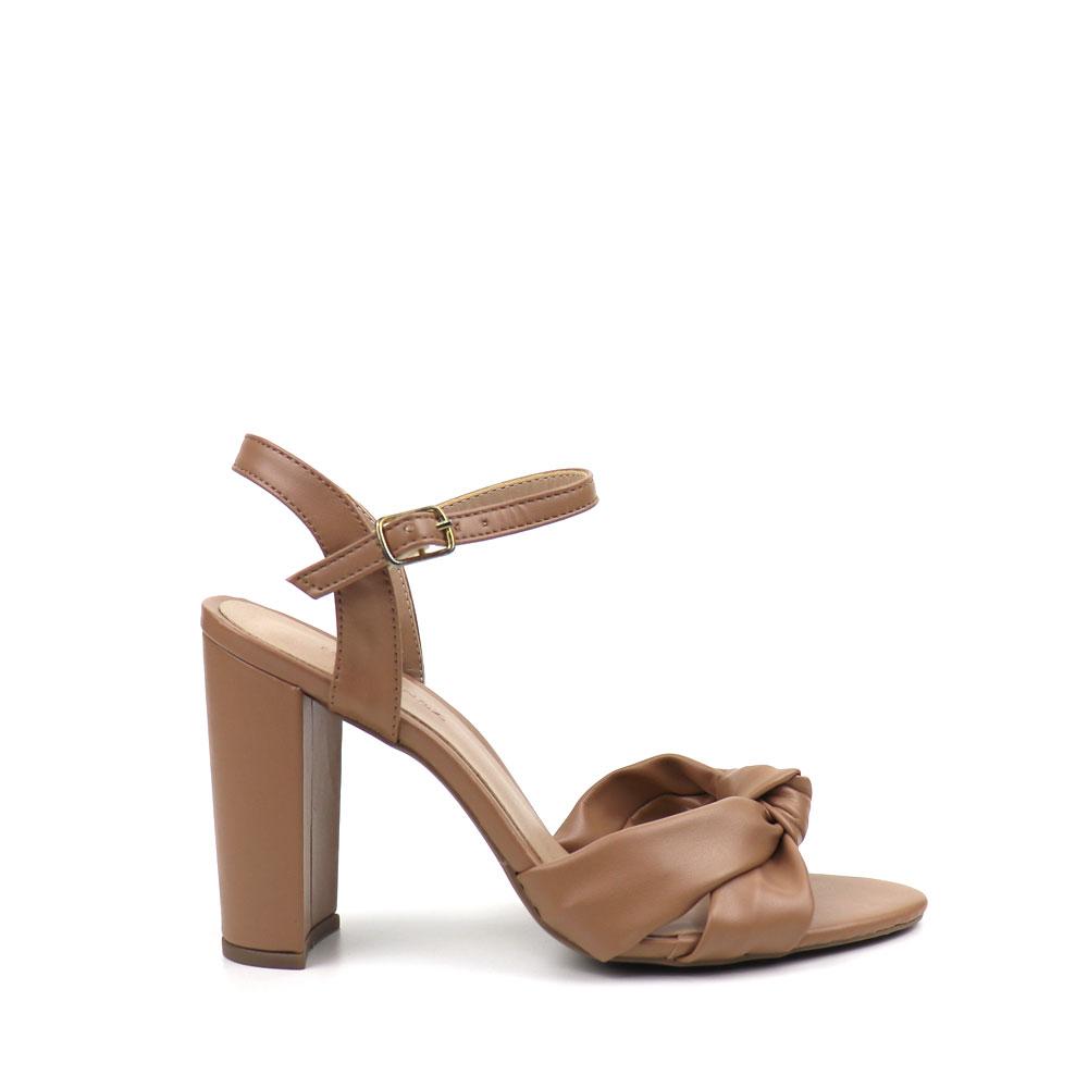 Sandália Salto flare Gabi Antique