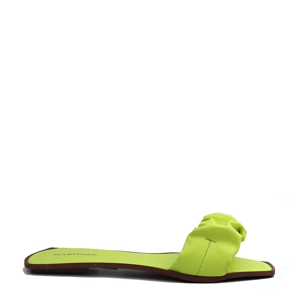 Sandalia Salto Rasteiro Lemon