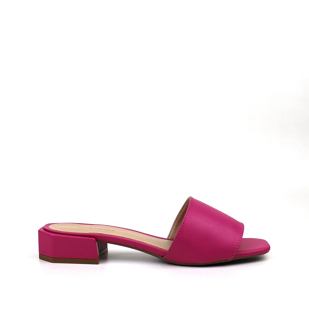 Sandália Tamanco Pink