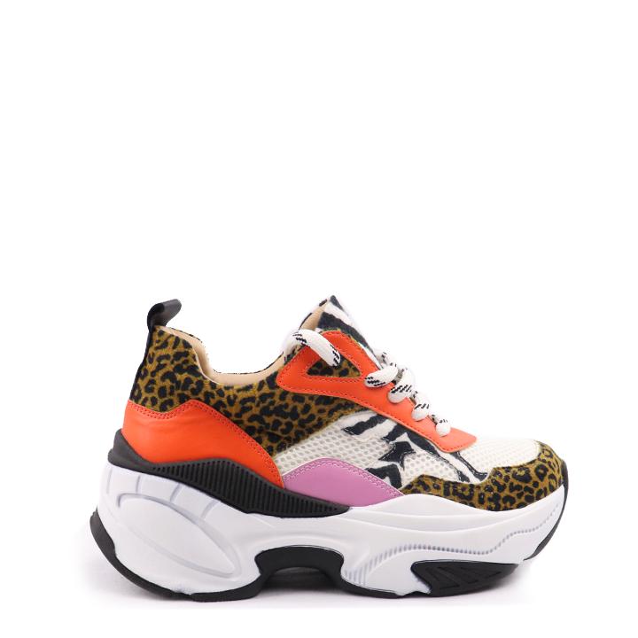 Sneaker chunky  animal print