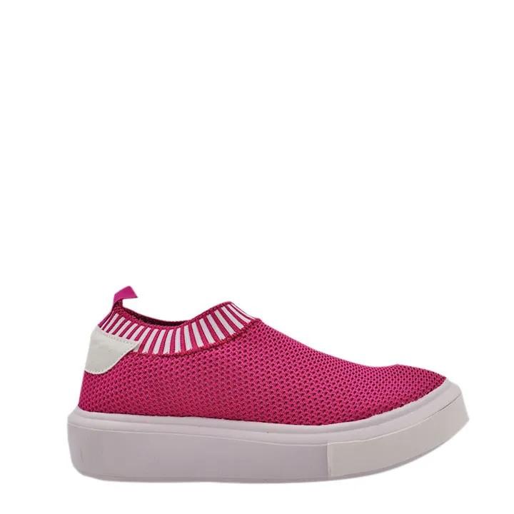 Tênis Knit trico Pink