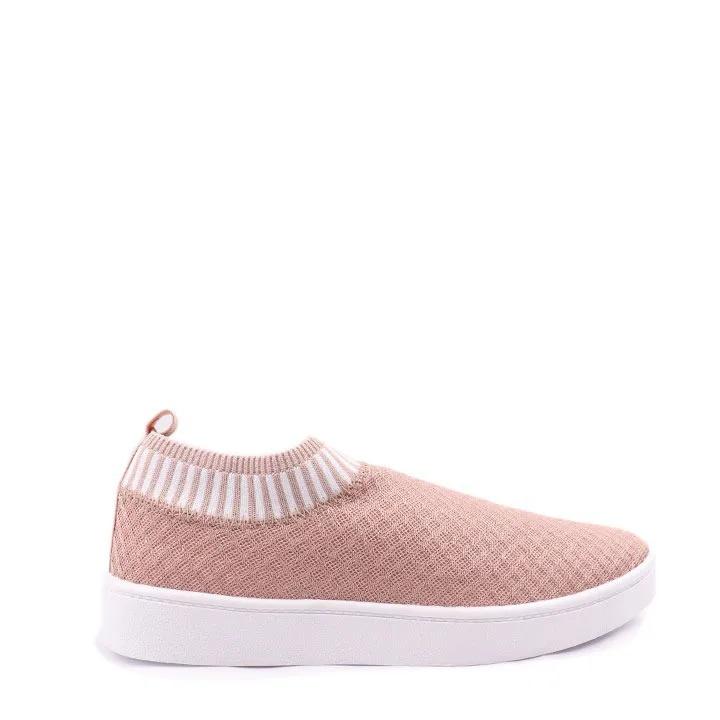 Tênis Knit trico Rosê