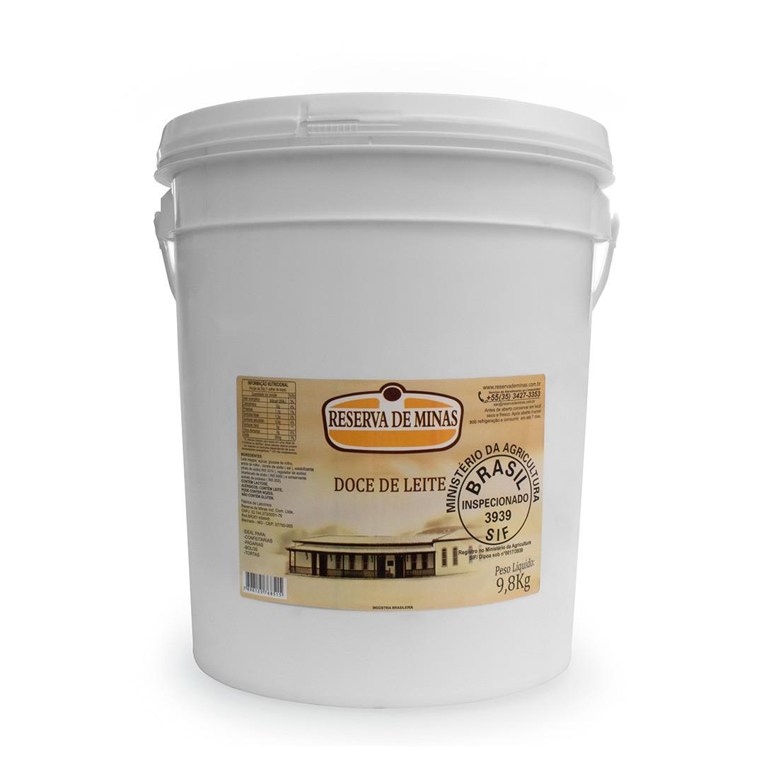 DOCE DE LEITE RESERVA DE MINAS - Caixa com 1 unidade de 9,8kg