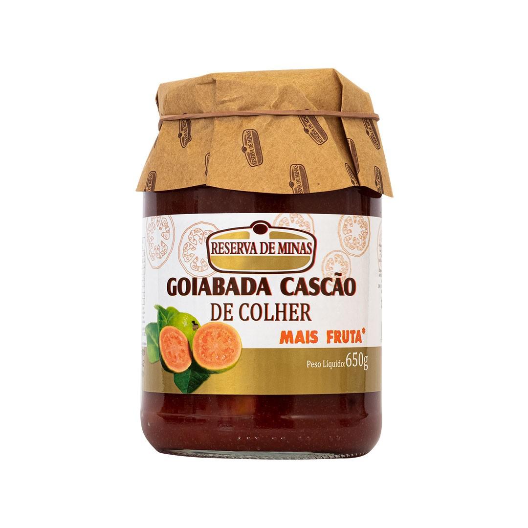 GOIABADA CASCÃO COLHER RESERVA DE MINAS 650g - Caixa com 6 unidades