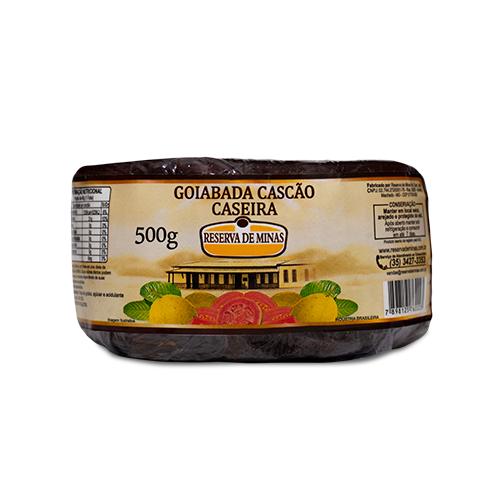 GOIABADA CASCÃO RESERVA DE MINAS 500g - Caixa com 12 unidades