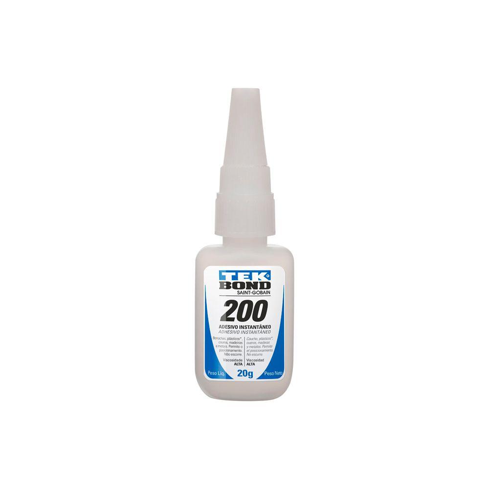 Adesivo Instantâneo Multiuso 200 20g Tekbond