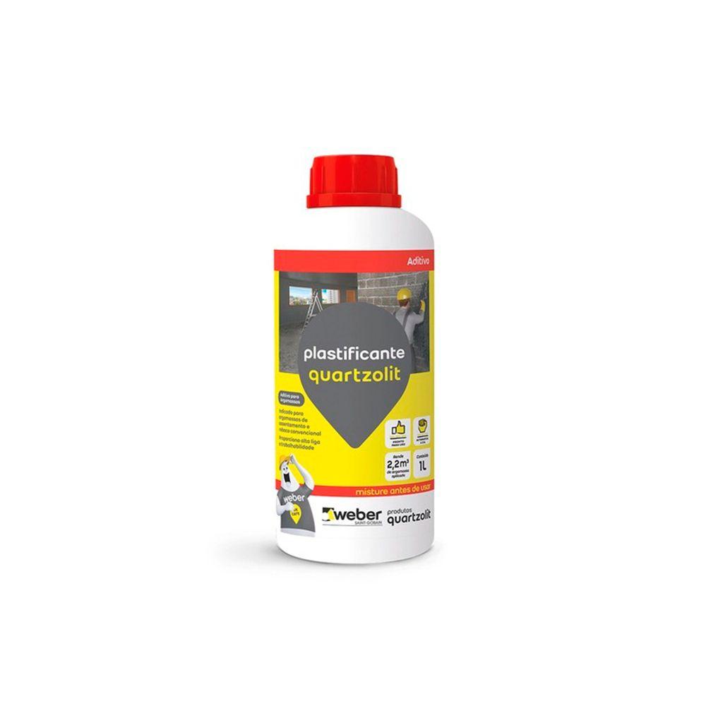 Aditivo Plastificante 1L Quartzolit