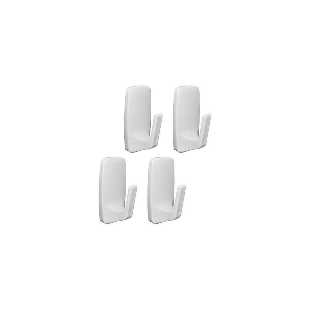 Cabide Removível Pequeno CBDA/RP Branco 4UN Astra