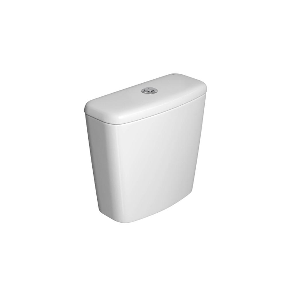 Caixa Acoplada Universal com Acionamento Duo Branco Gelo Deca