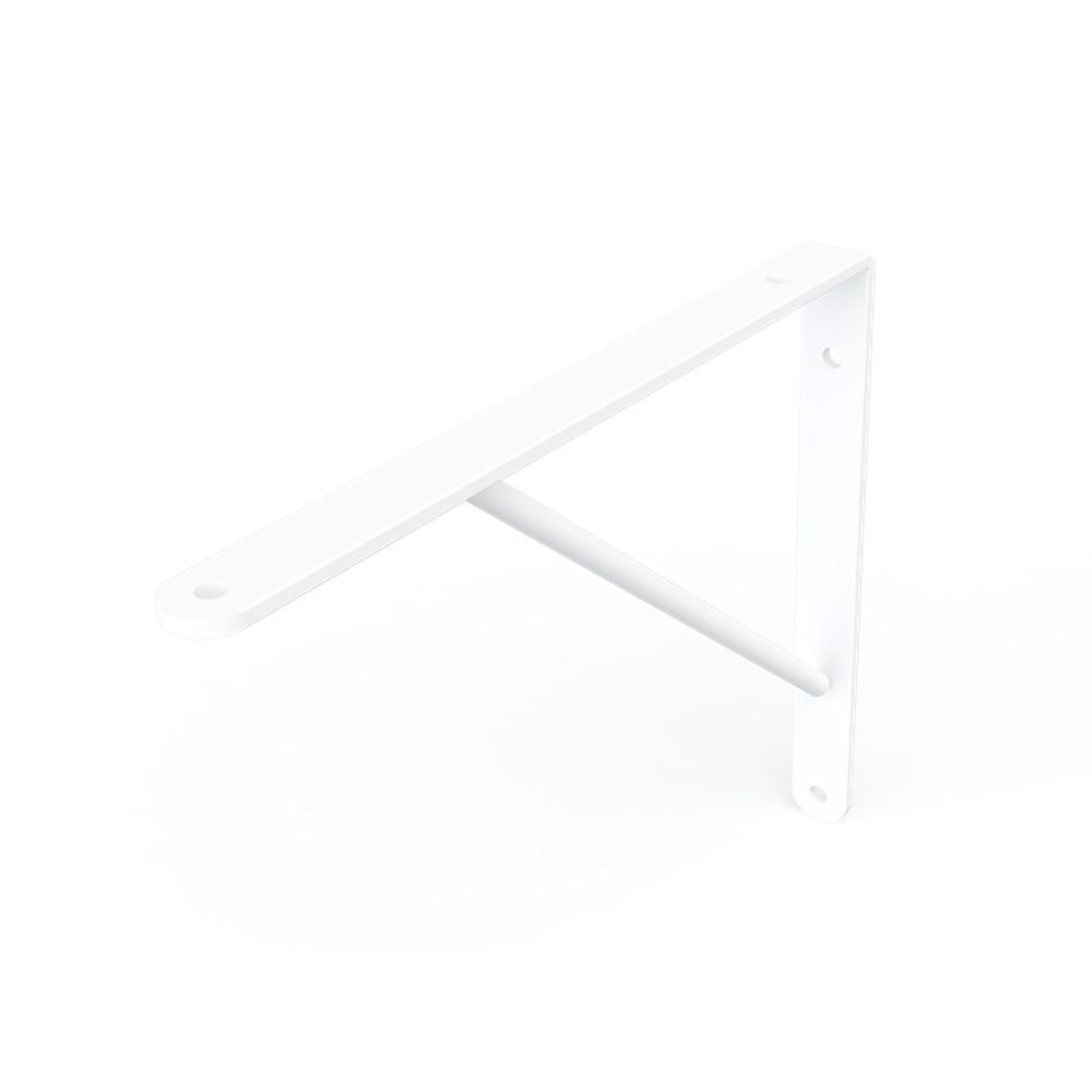 Cantoneira Mão Francesa Sem Kit MTG Branco 25cm Dicarlo