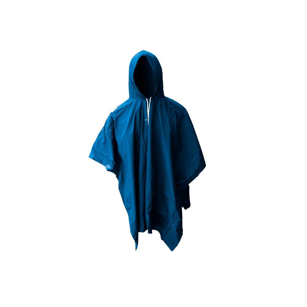 Capa Chuva PVC Sem Forro Azul Nautika