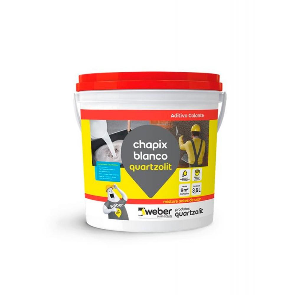 Chapix Branco 3,6L Quartzolit