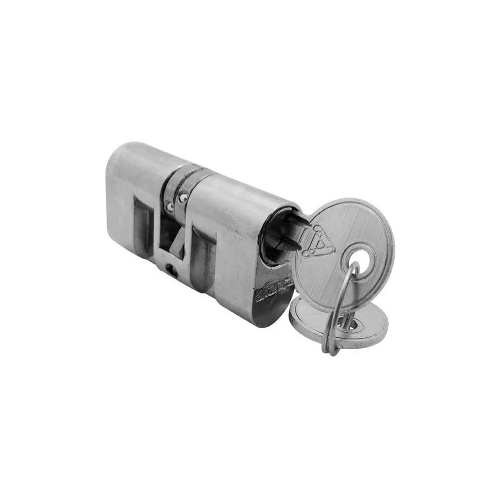 Cilindro Para Fechadura Rosca C400 Cromado Aliança