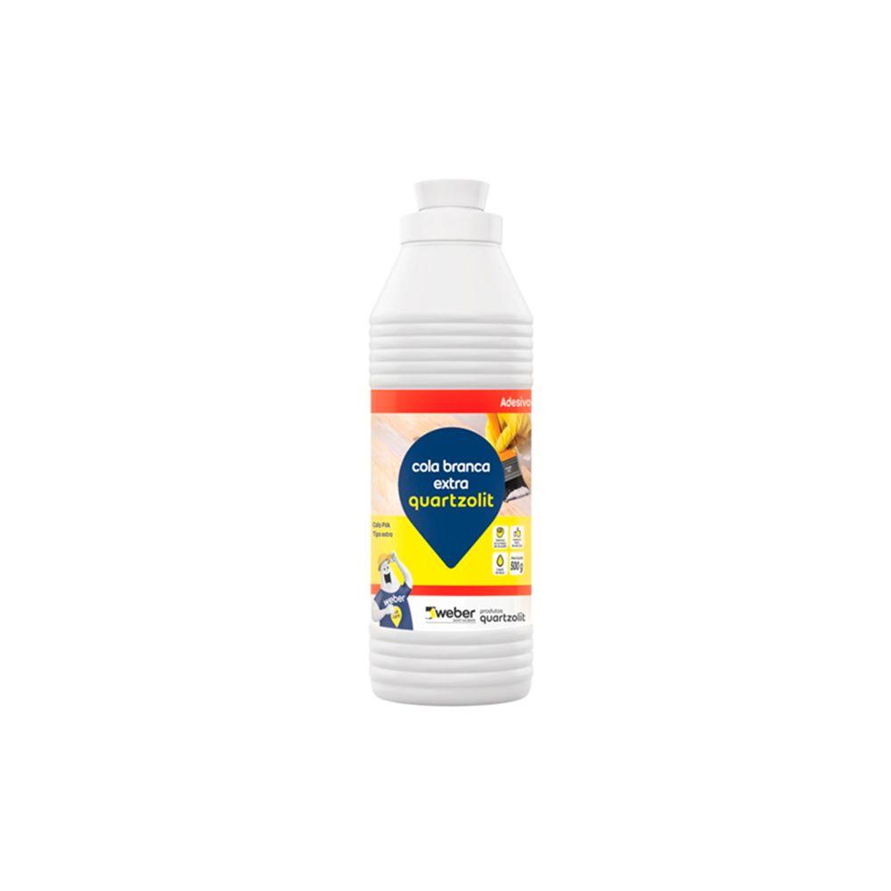 Cola Branca Extra 500g Quartzolit