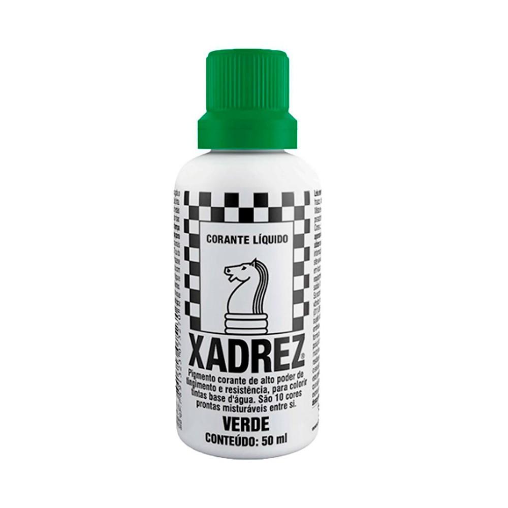 Corante Líquido Verde 50ml Xadrez