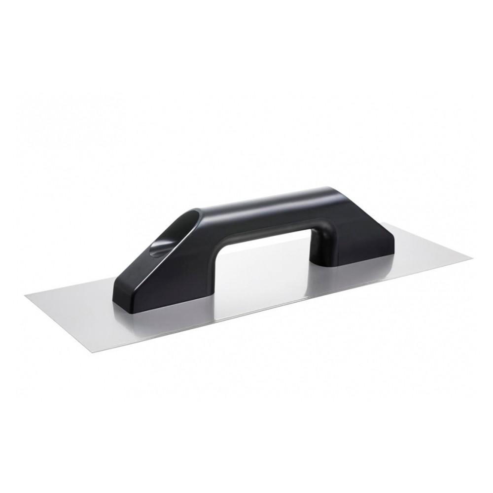 Desempenadeira de Aço Lisa Cabo Plástico 38cm Cortag