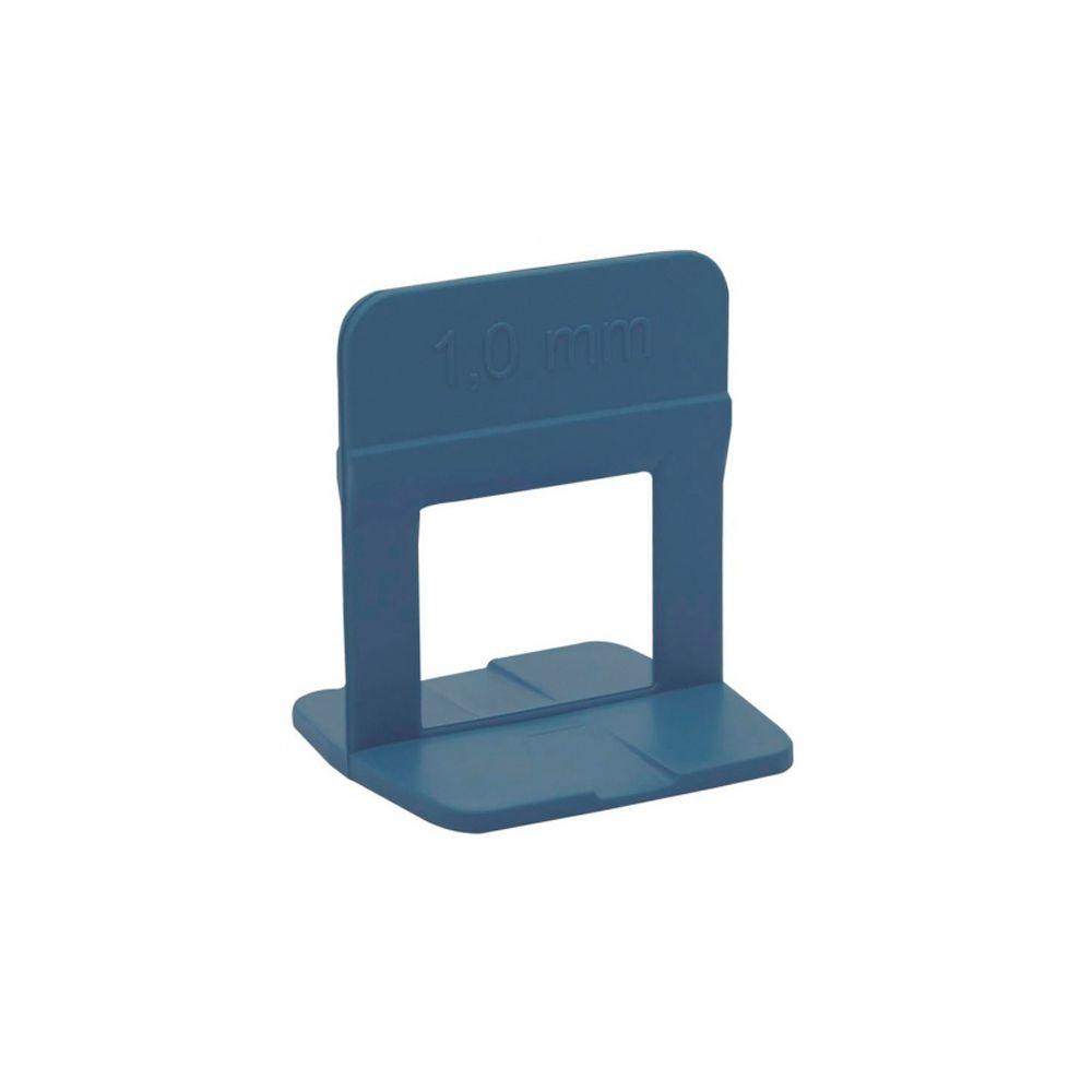 Espaçador Azul de 1,0 mm Nivelador de Piso com 50 peças Cortag