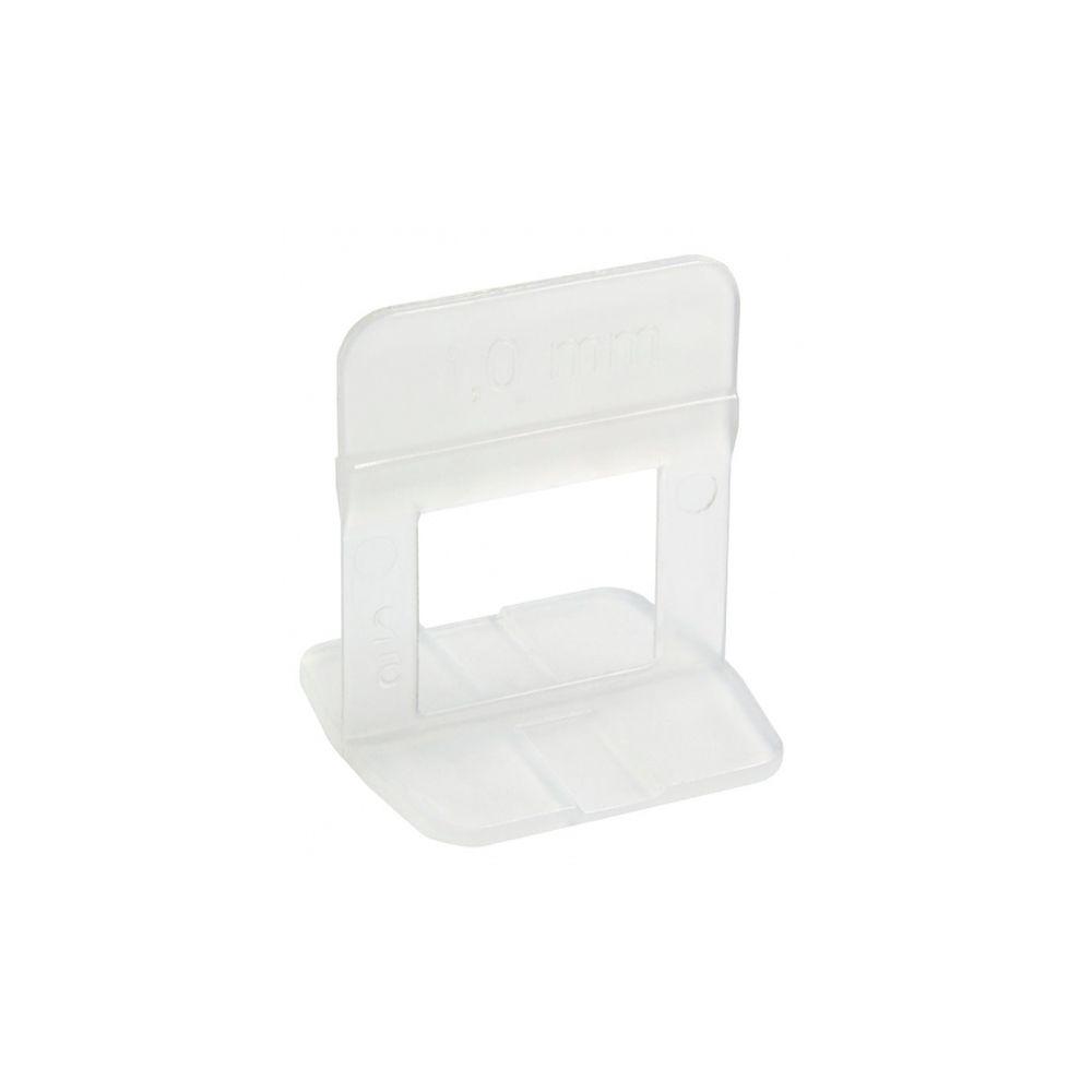 Espaçador Transparente de 1,0 mm Nivelador de Piso com 50 peças Cortag