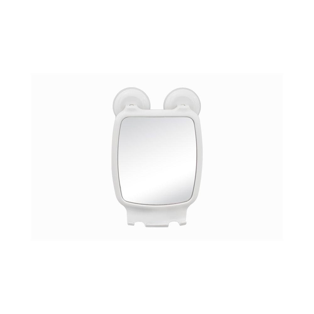 Espelheira Branca Com Ventosa  AV/ESP BR1 Astra