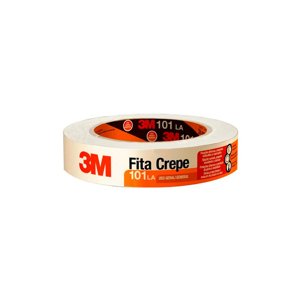Fita Crepe 18mm x 50mts 3M