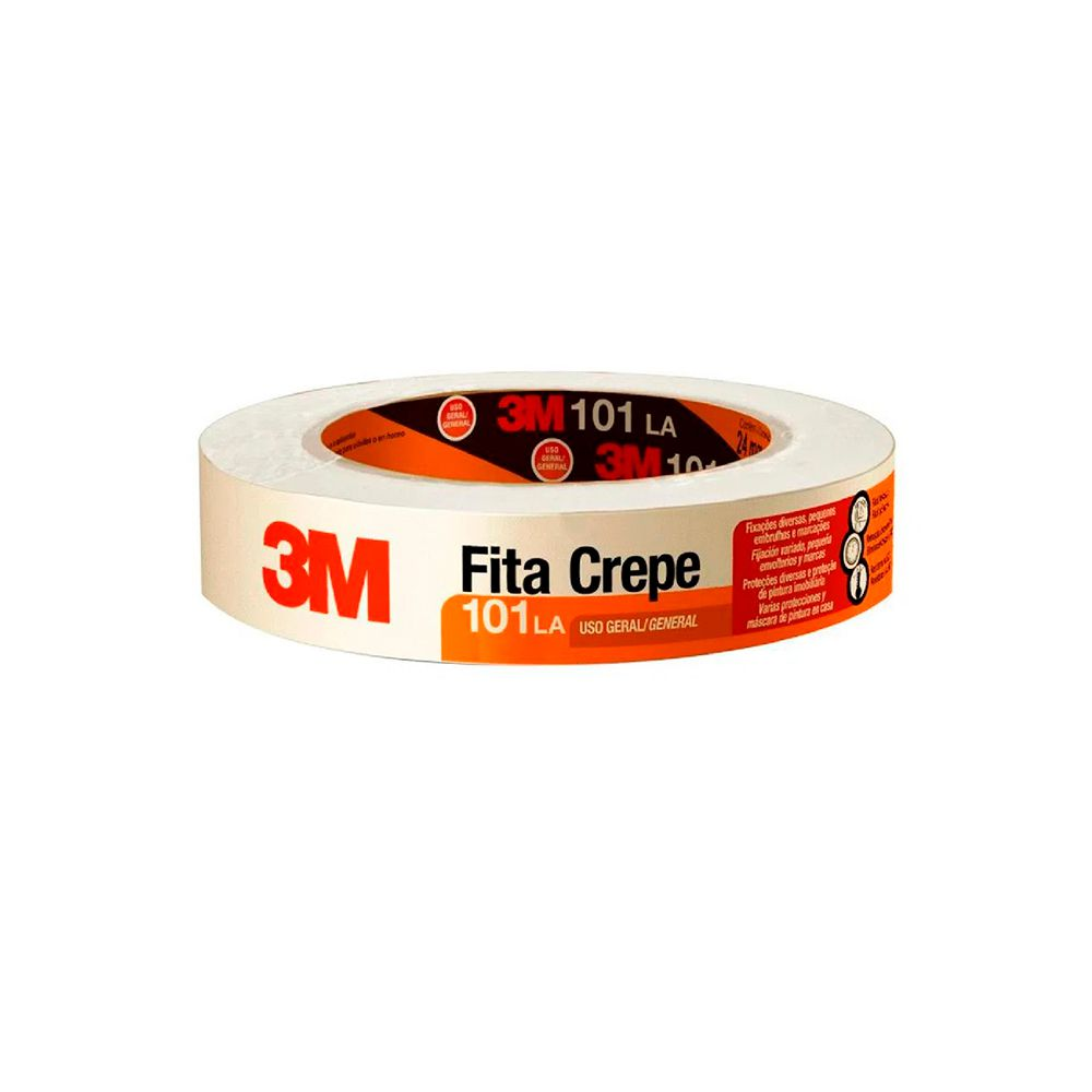 Fita Crepe 24mm x 50mts 3M