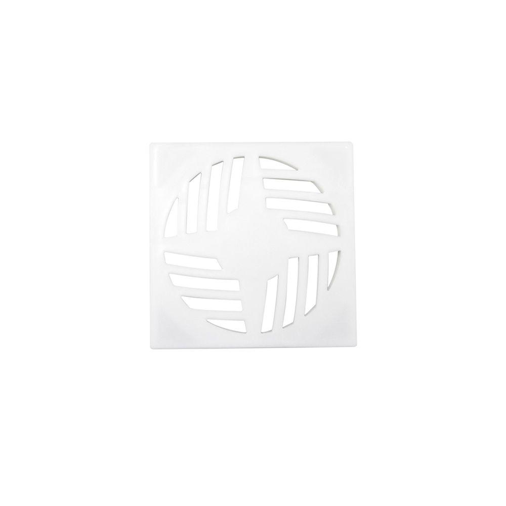 Grelha Quadrada Branca 15X15CM GR17 Astra