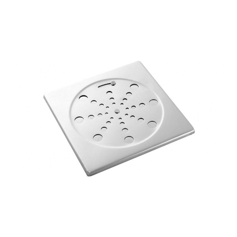 Grelha Quadrada Para Caixa Sifonada Com Fecho 100mm 291813 Blukit