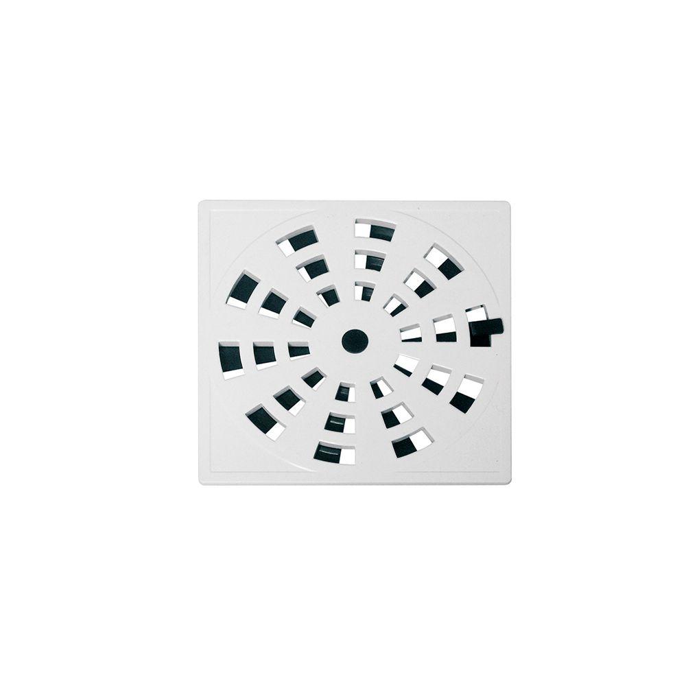 Grelha Rotativa Branca Quadrada 15X15CM GRB5 Astra