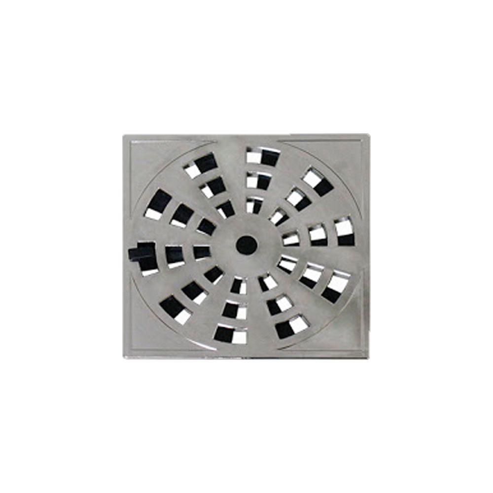 Grelha Rotativa Cromada Quadrada 15X15CM GRB6 Astra