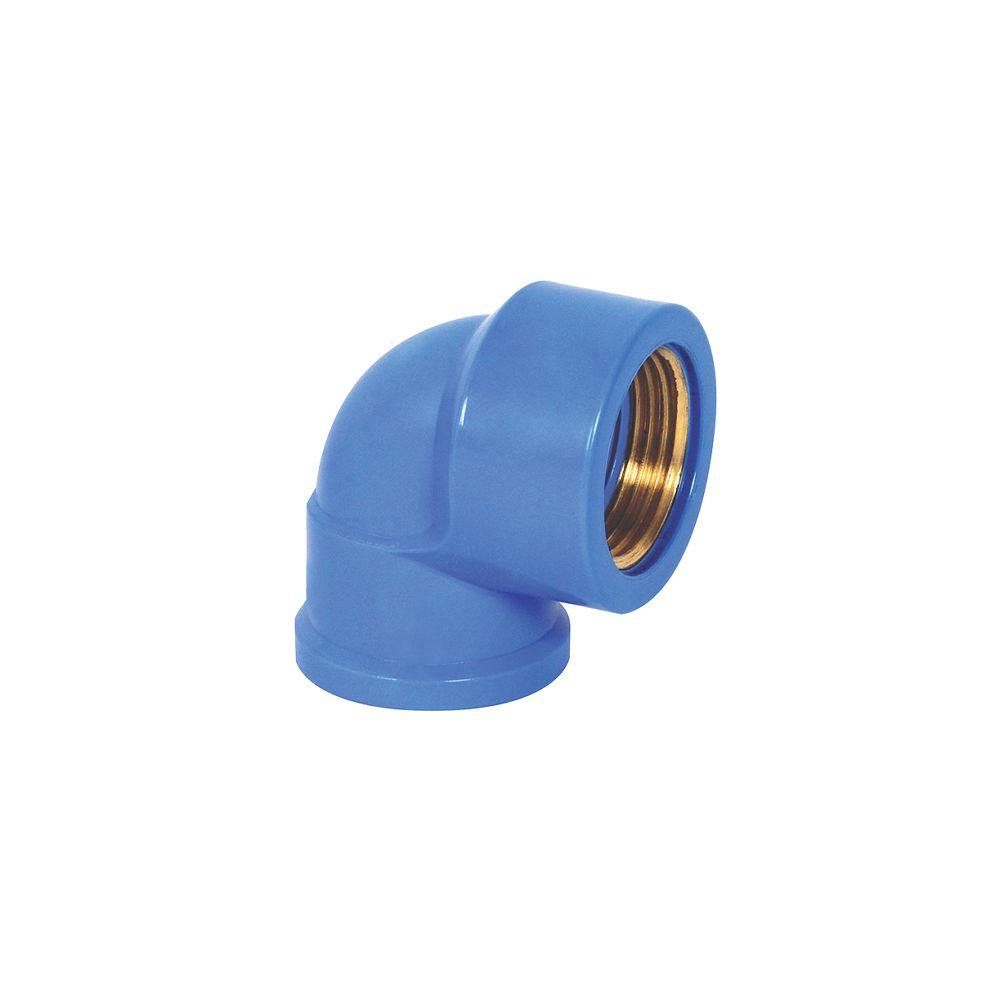 Joelho 90° Azul Latão 25X1/2 0499 Krona
