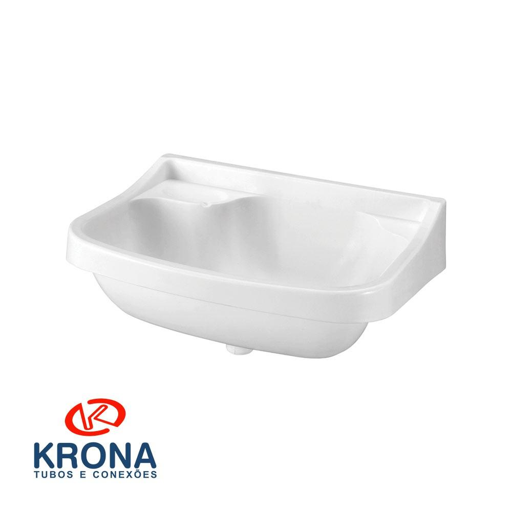 Lavatório Plástico 360X360 Branco Krona