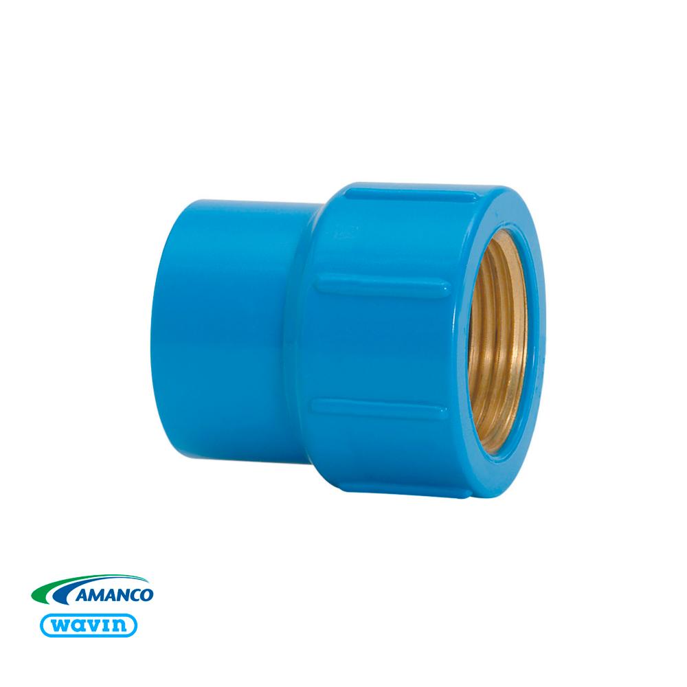 Luva Azul Latão LR 20X1/2  Amanco