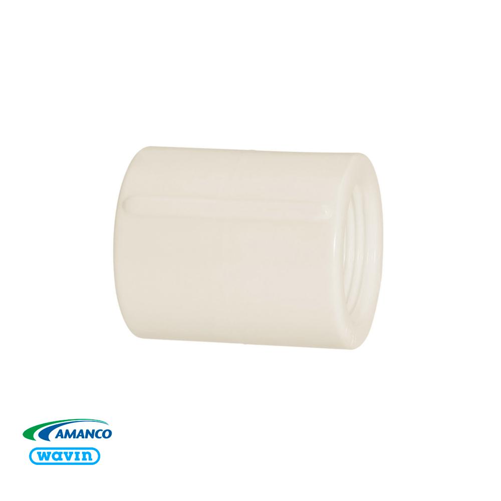Luva Roscável 1/2X1/2 Branco 11734 Amanco