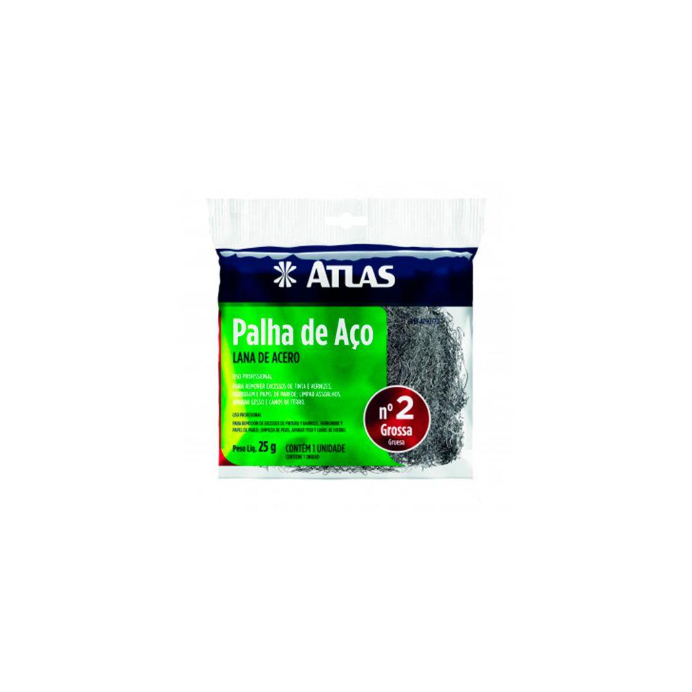 Palha De Aço Nº2 25g AT90/70 Atlas