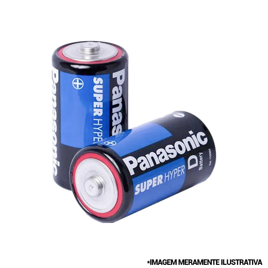 Pilha Super Hyper Grande D 1,5v Panasonic