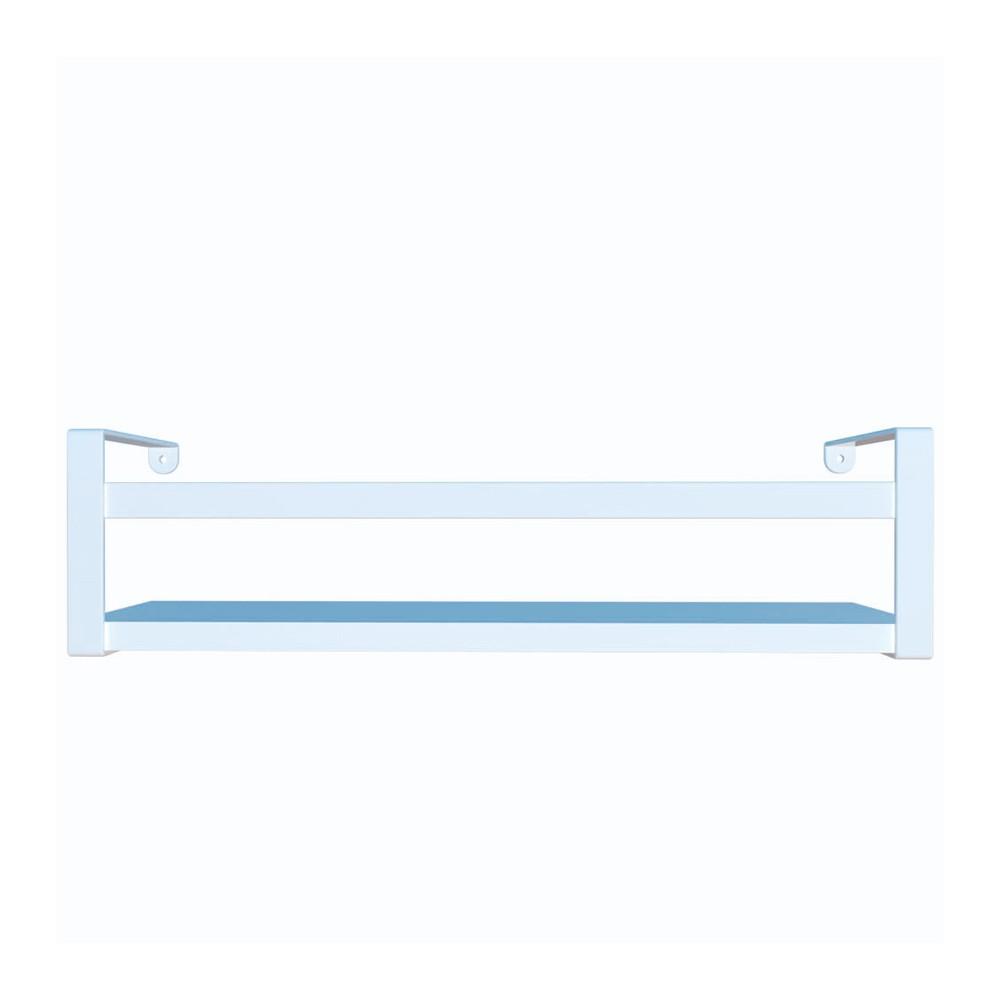 Prateleira Box Estilo 45cm Branco/Branco Dicarlo