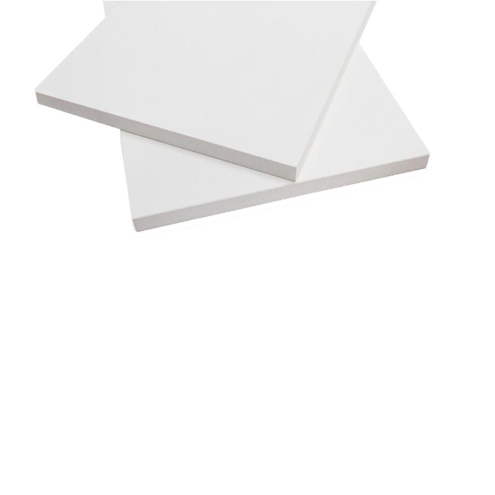 Prateleira Roma 100x30cm Branco sem Suporte Dicarlo